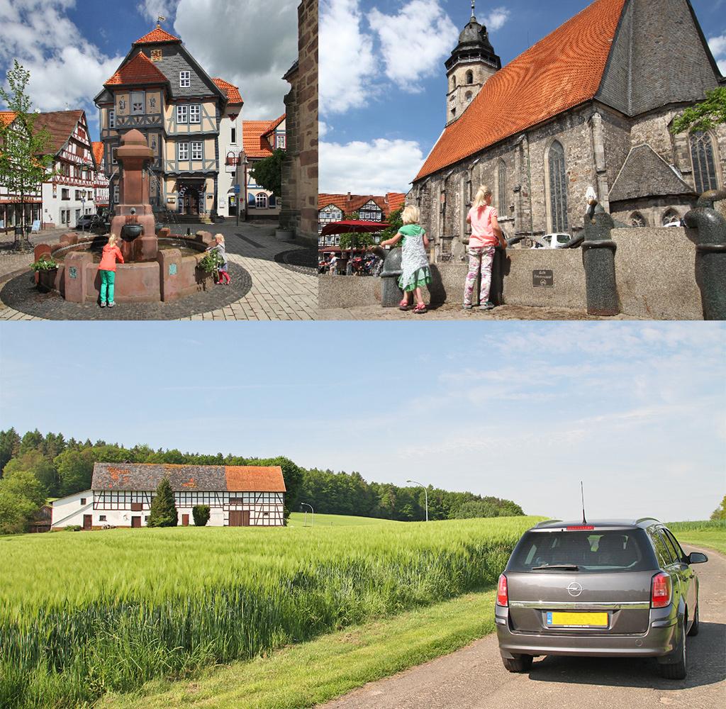 Nordhessen vakwerkstadjes en natuur Roodkapjeland