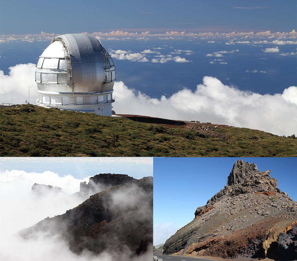 Zo gaaf op La Palma - die wolken!