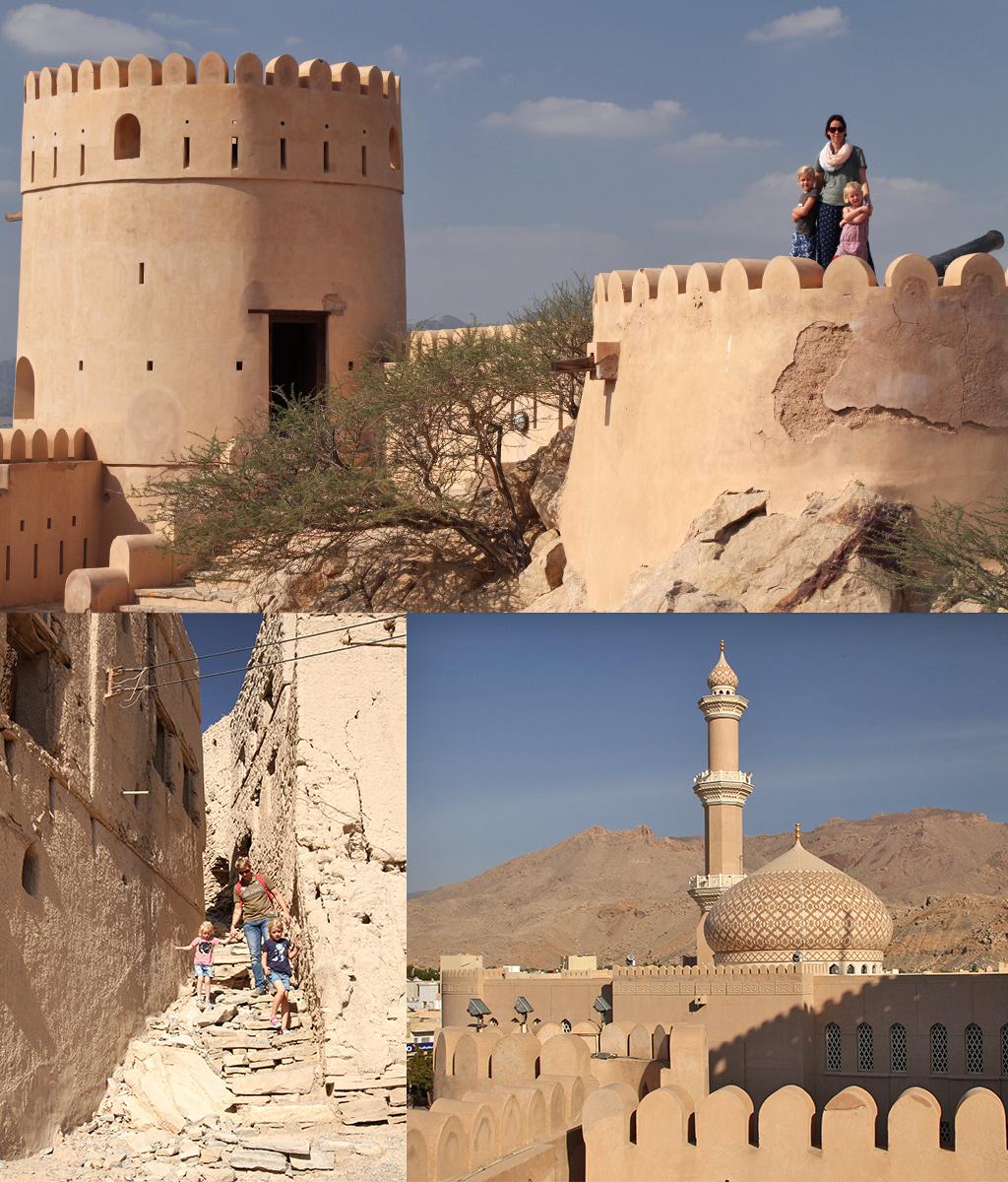 Oman met kinderen - kastelen