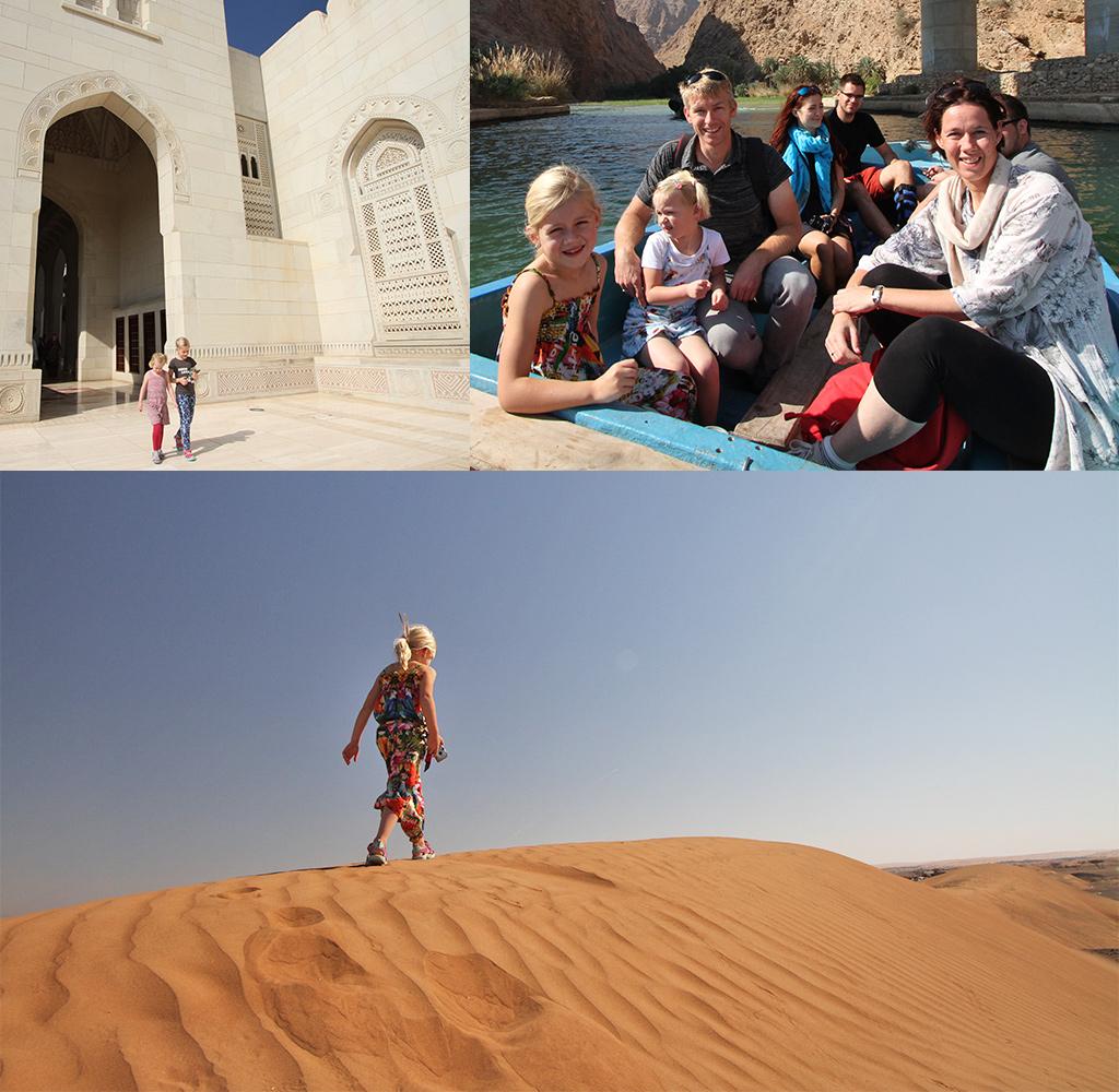 Oman met kinderen ontdekken
