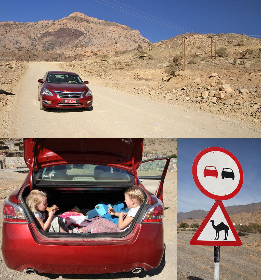 Oman met kinderen - veiligheid