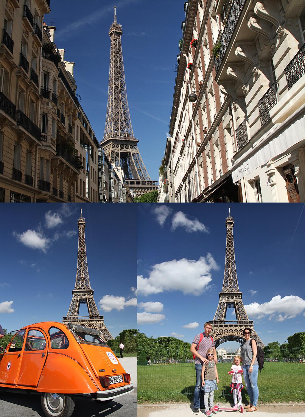 Parijs met kinderen Eiffel-toren