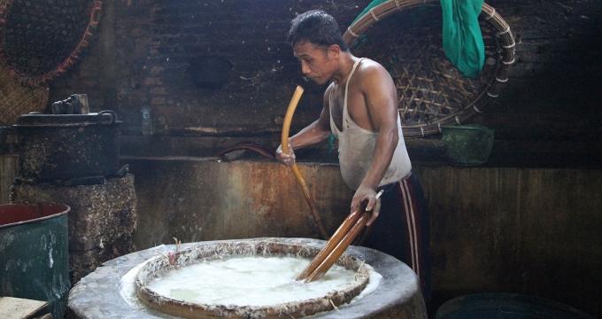 Photo Stories - bedrijvigheid rond Yogyakarta