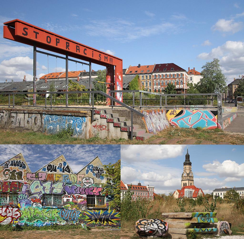 Plagwitz Leipzig met twee gezichten