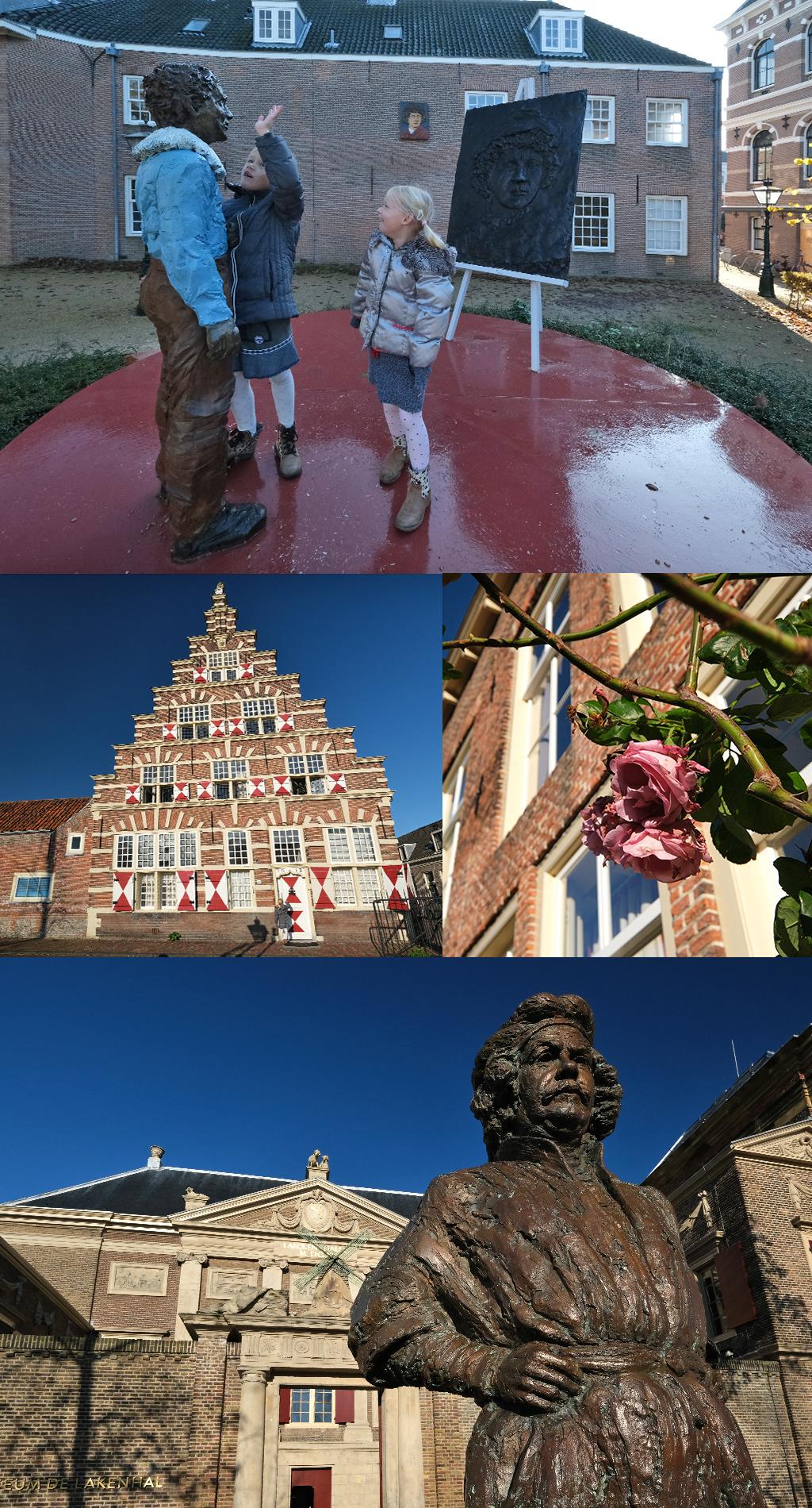 Rembrandt wandeling Leiden