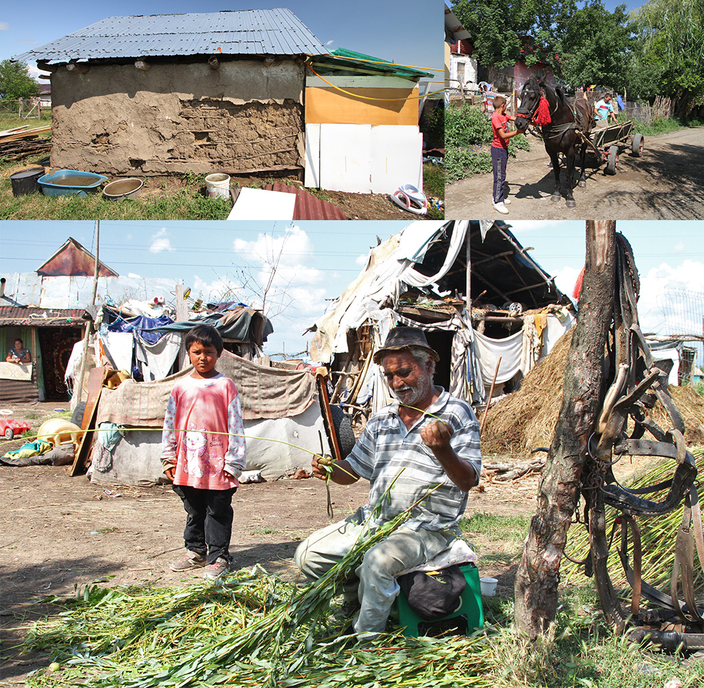 Roma mandenmakers dorp