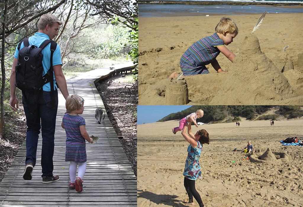 Saint Lucia, Zuid-Afrika met kinderen