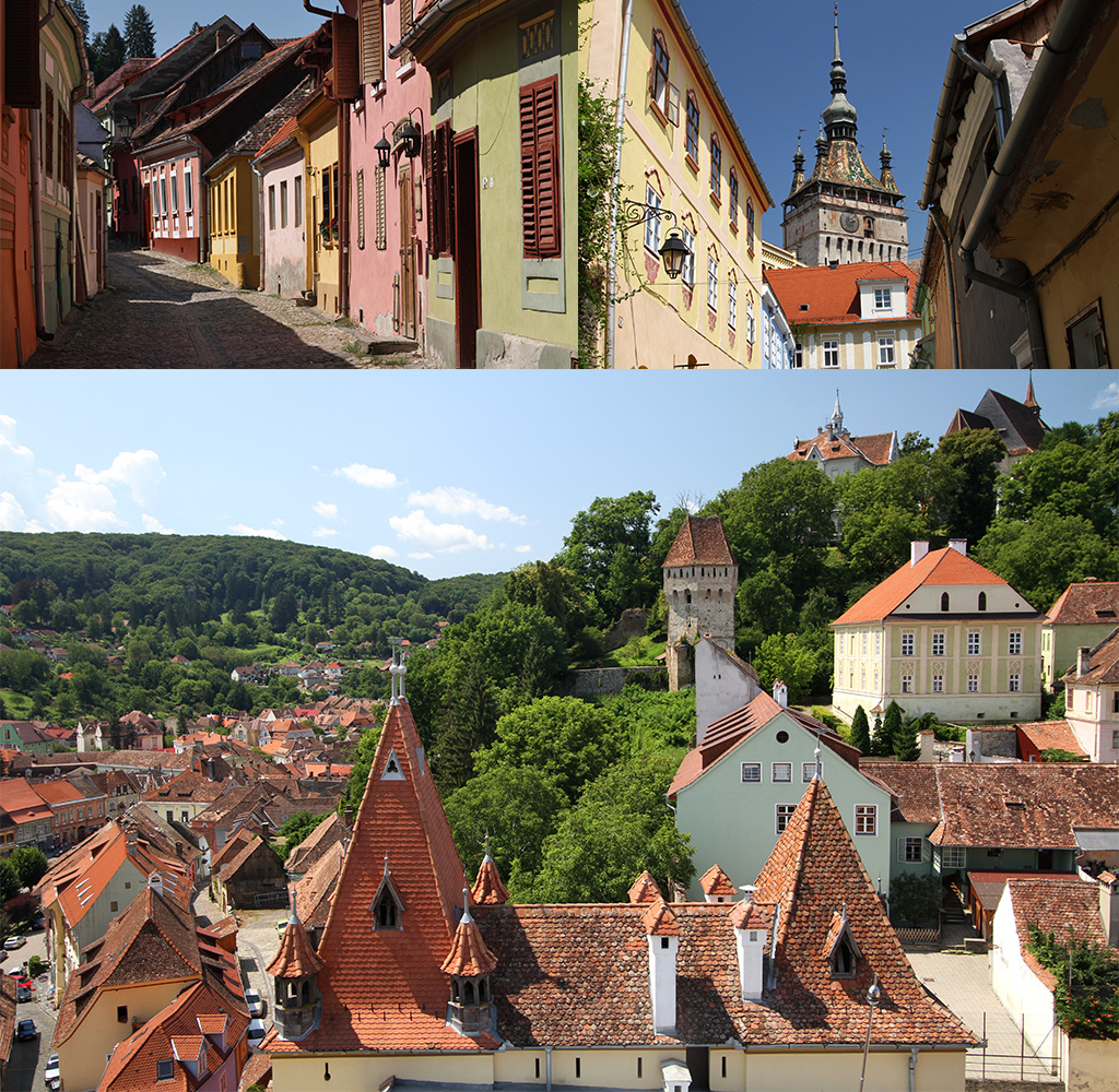Sighisoara centrum