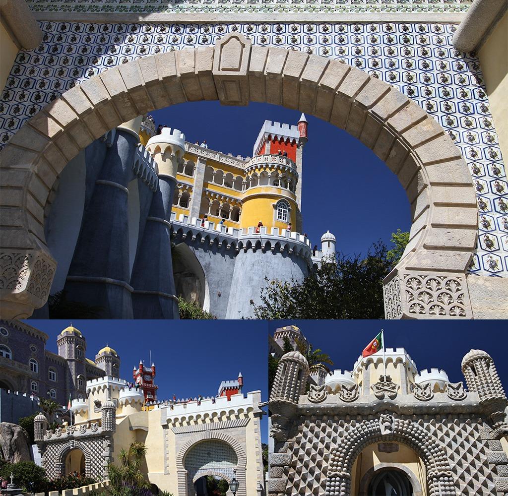 Sintra Palacio de Pena