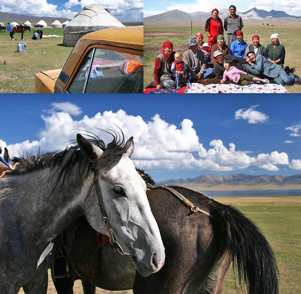 Song-Köl - zoektocht naar een paard