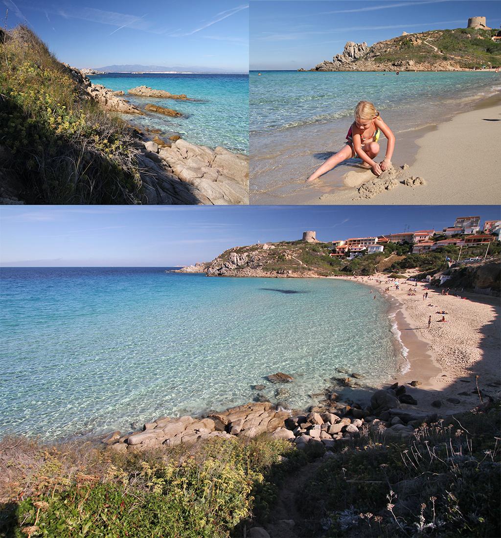 Spiaggia Rena Bianca Sardinië