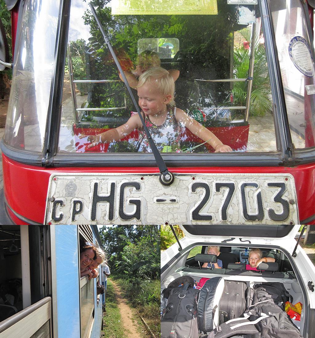 Sri Lanka met kinderen - vervoer
