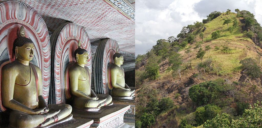 Sri Lanka route Dambulla