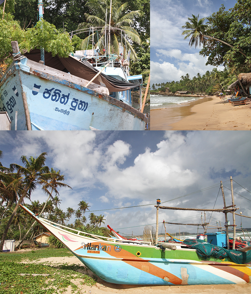 Sri Lanka route stranden