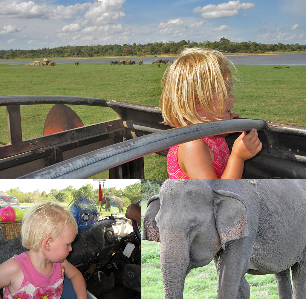 Sri Lanka safari met kinderen
