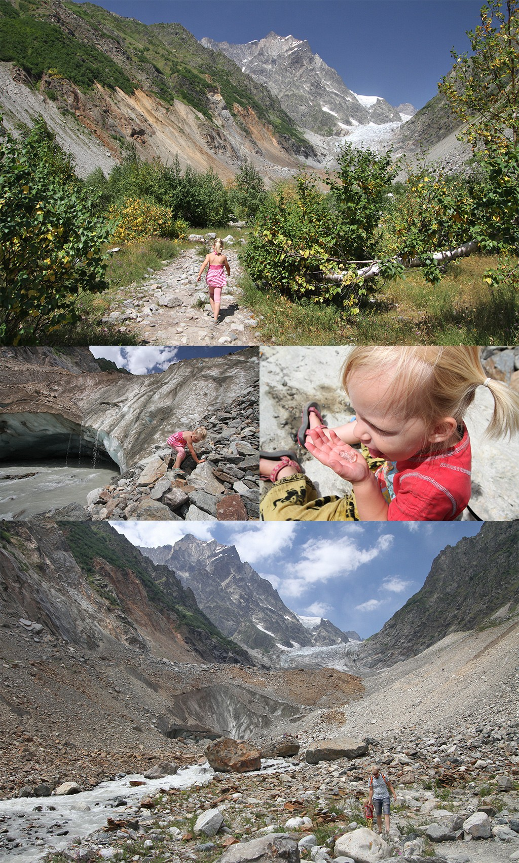 Svaneti Chalaadi gletsjer