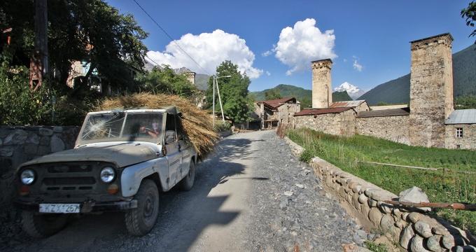 Svaneti Georgië