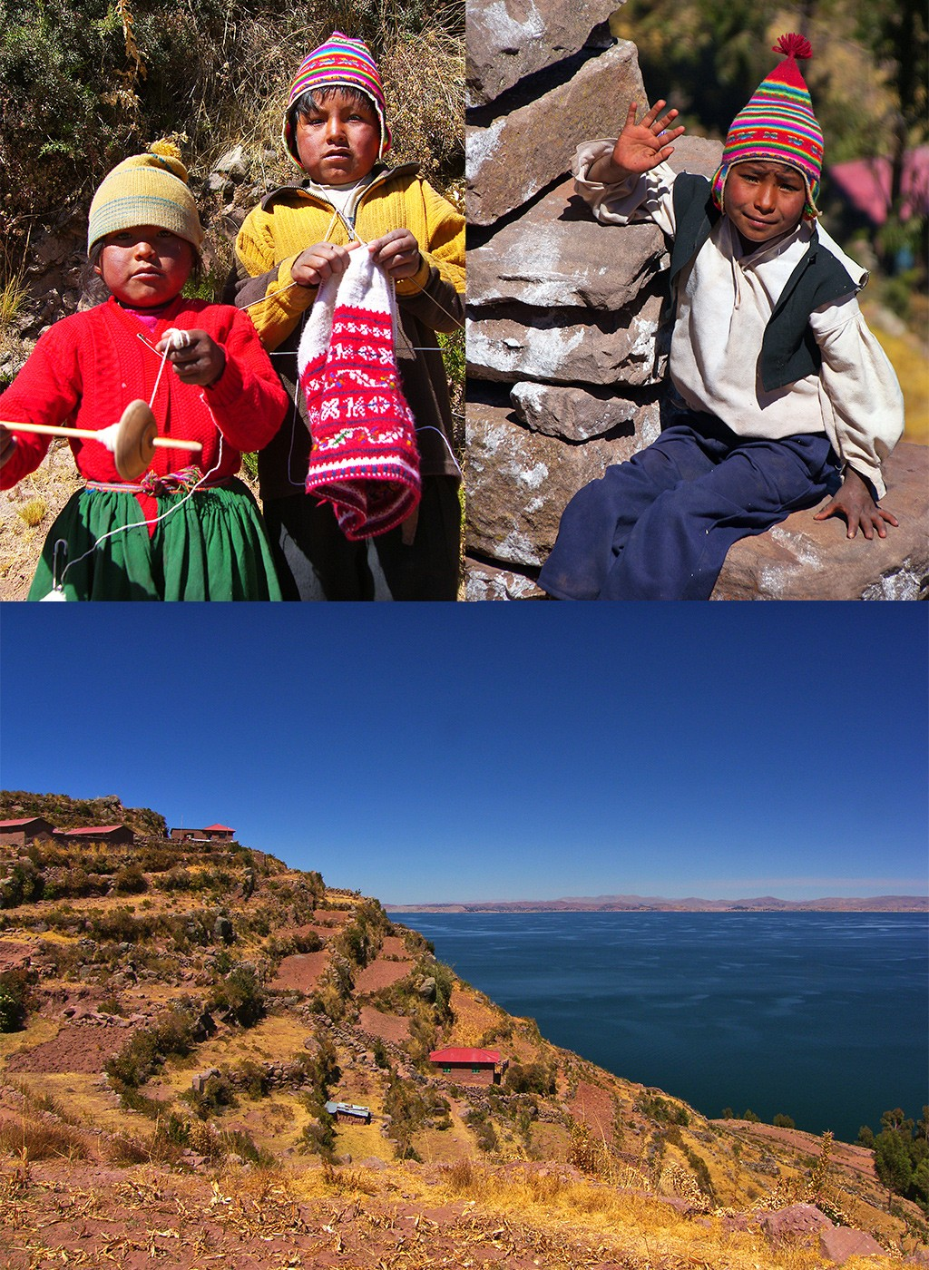 Taquile mooiste eilanden Peru