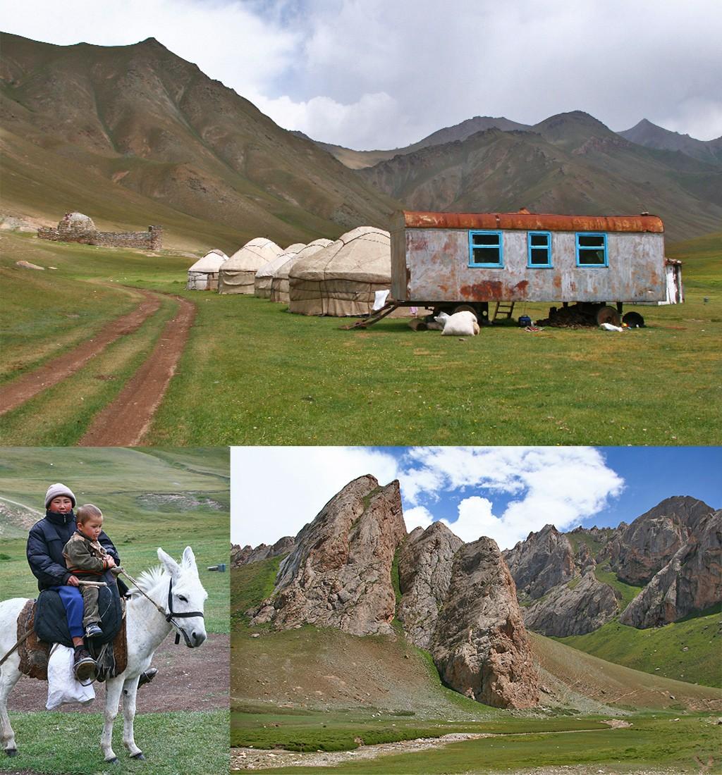 Tash Rabat vanuit Naryn