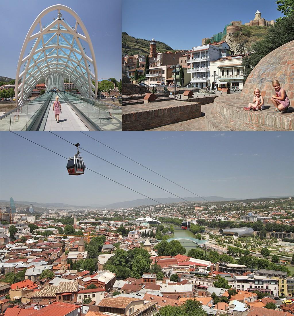 Tbilisi met kinderen