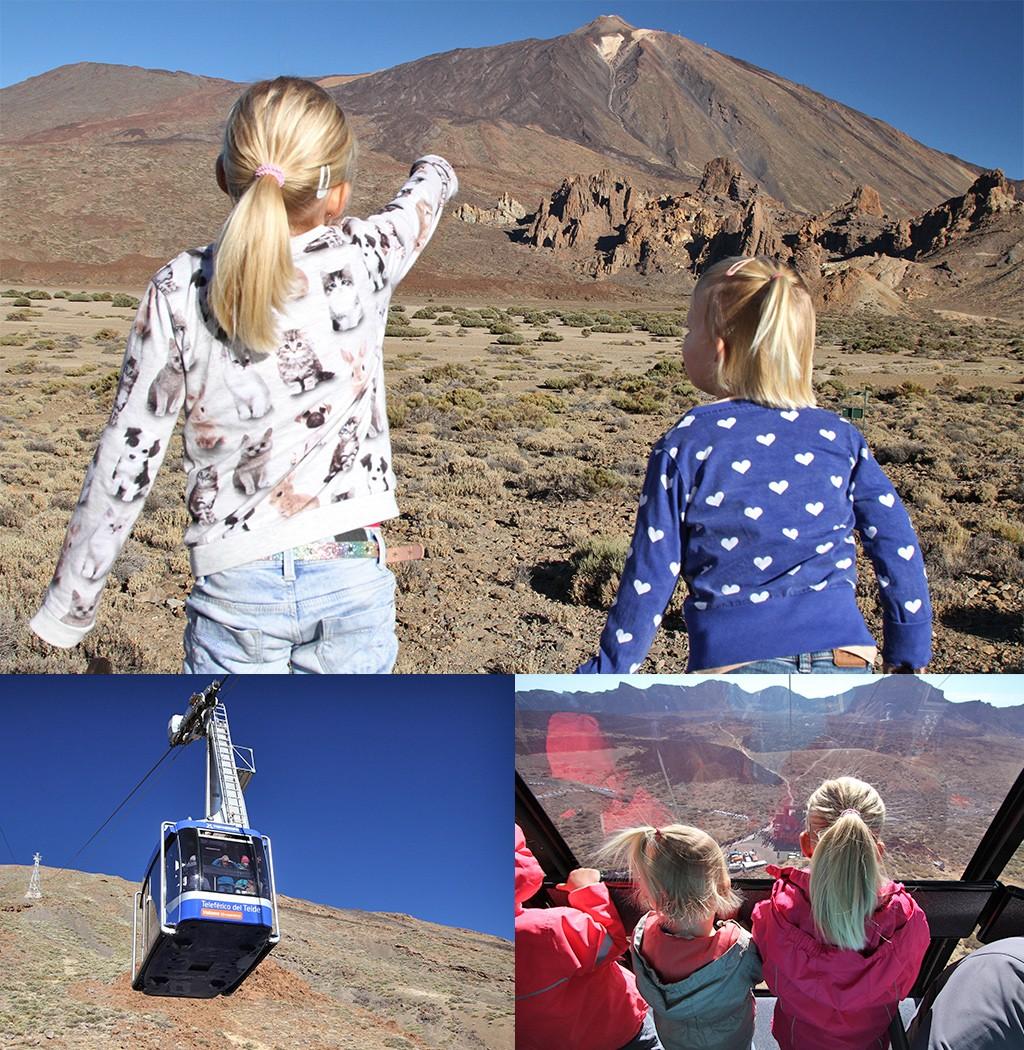 Tenerife met kinderen - kabelbaan Teide