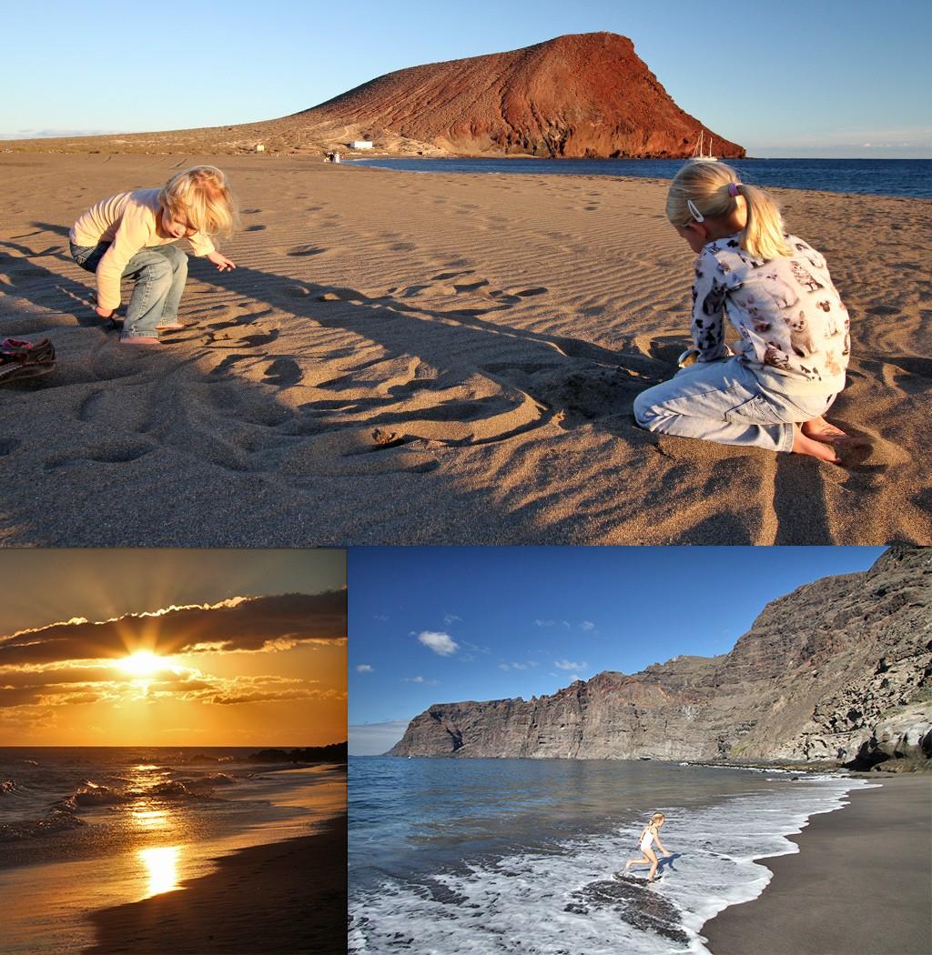 Tenerife met kinderen - strand