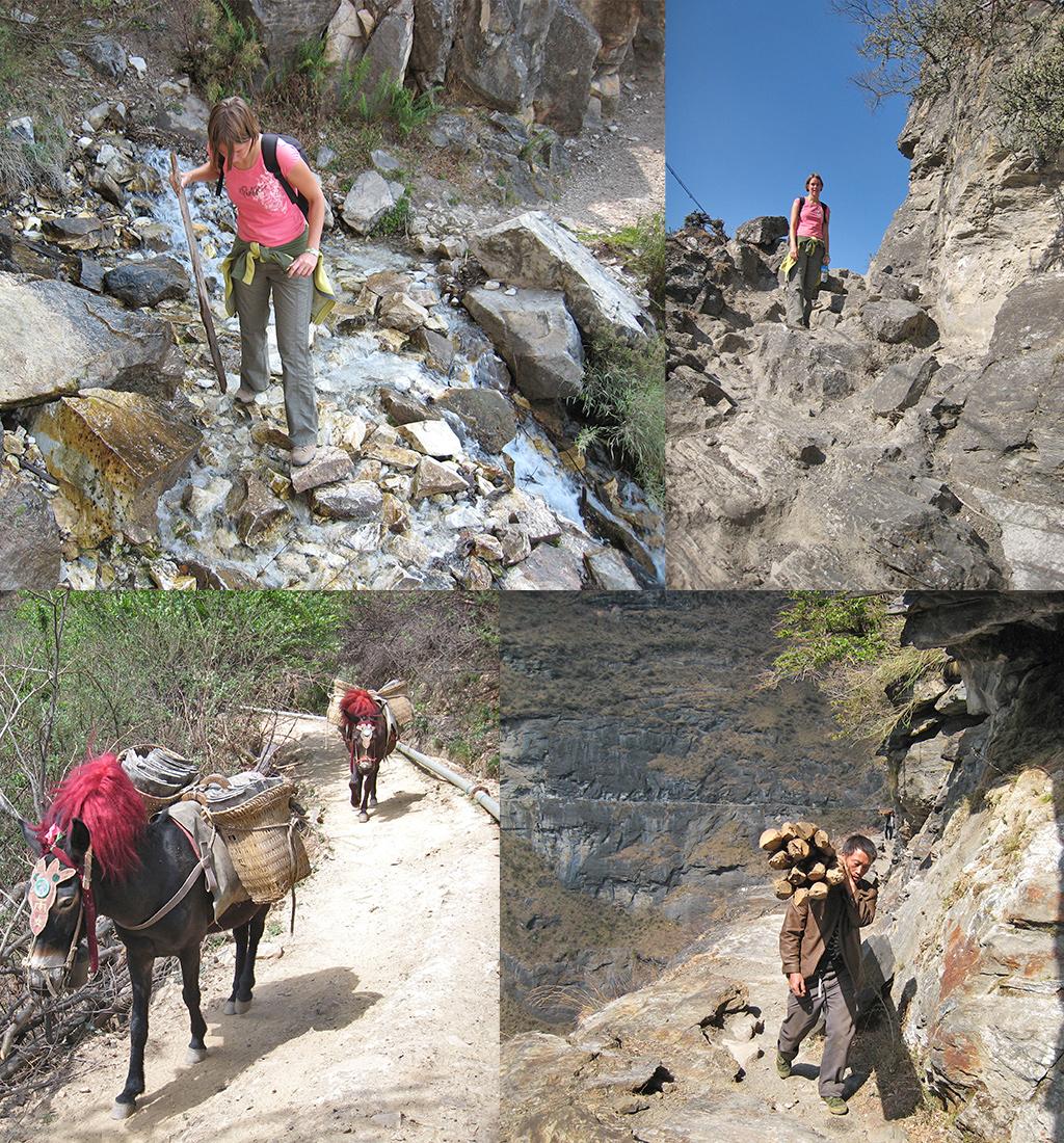 Tiger Leaping Gorge eerste etappe