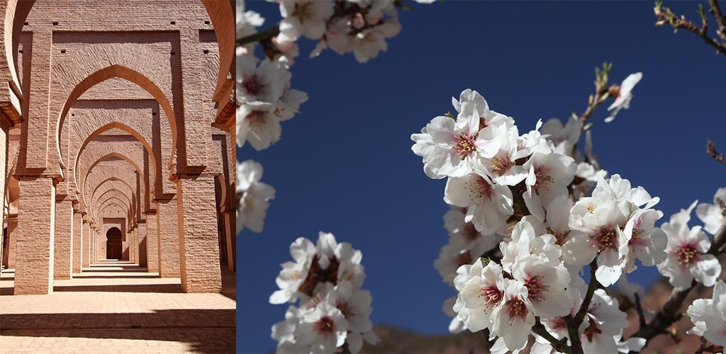 de Tin Mal moskee in Zuid Marokko