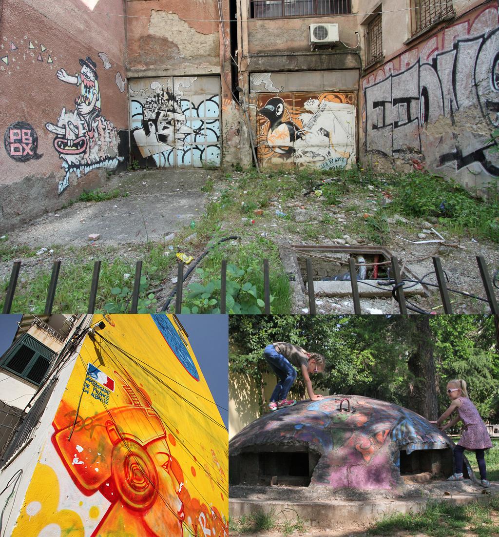 Tirana zien en doen - streetart