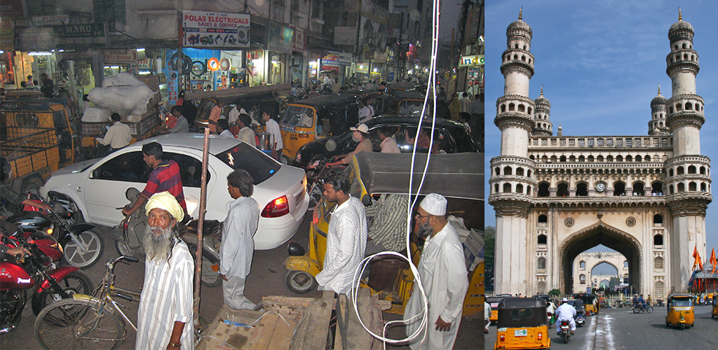 Toegangspoort tot Karnataka - Hyderabad