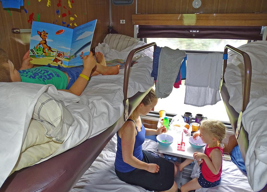 Trans Mongolië Express met kinderen