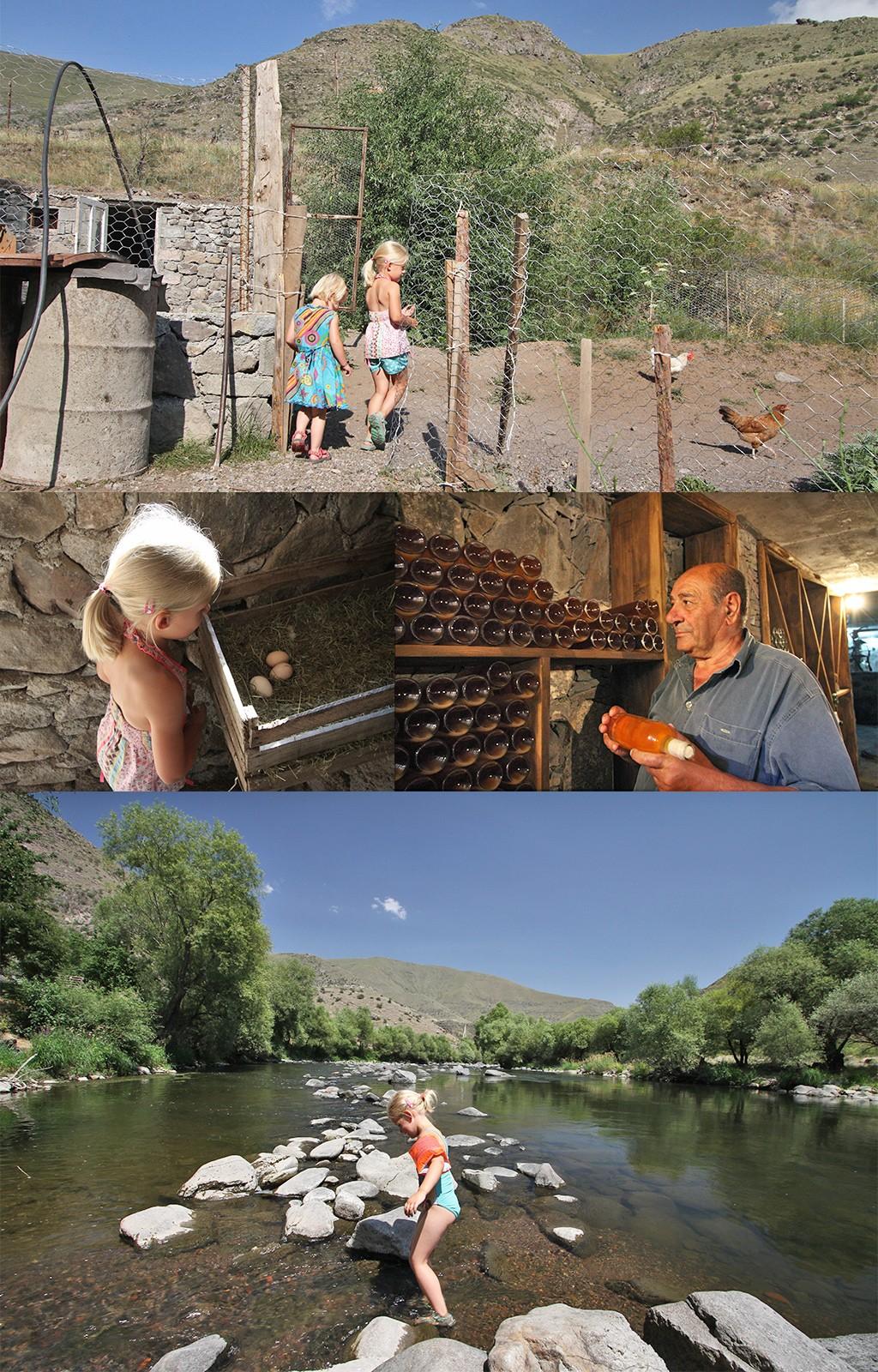 Valodia's Cottages Vardzia - heerlijke plek