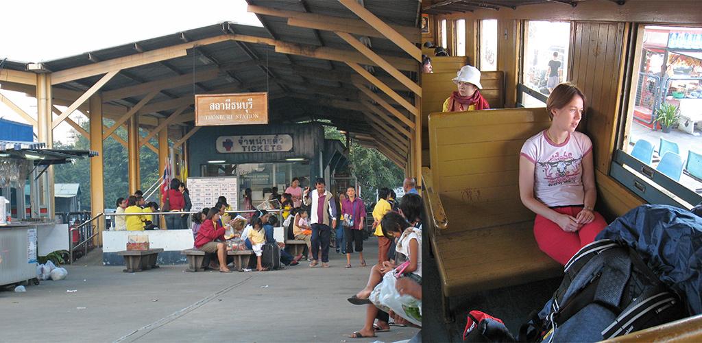 Vanuit Thonburi naar Kanchanaburi