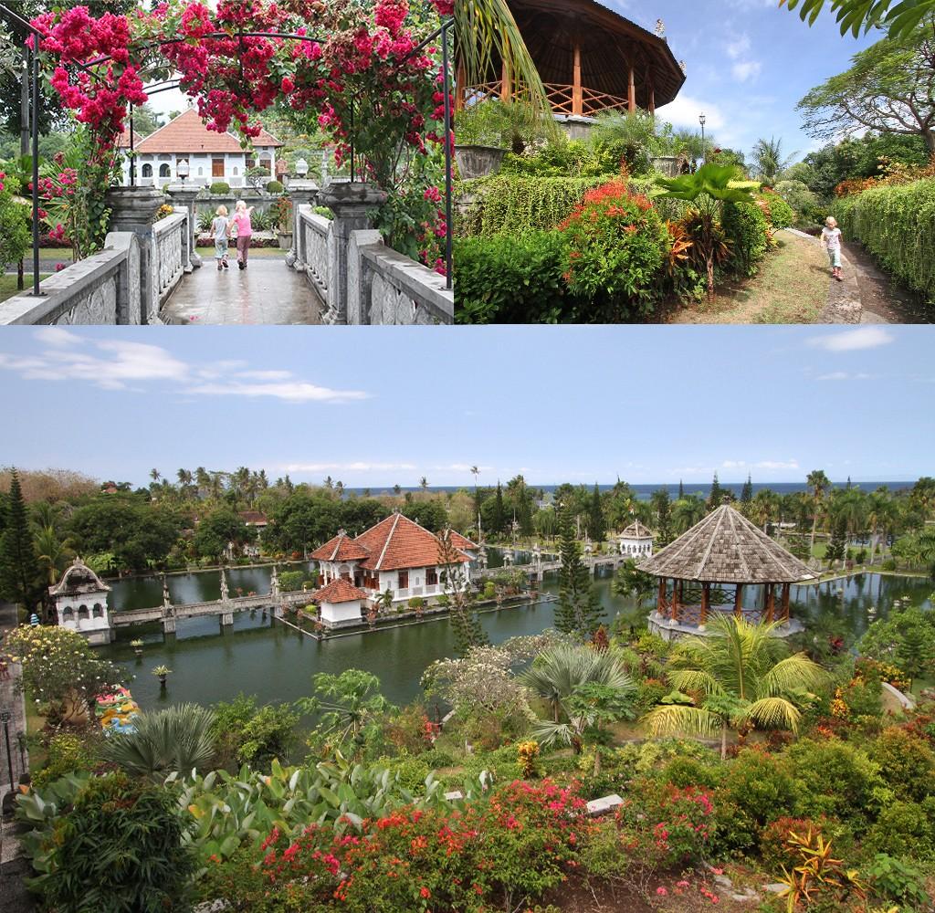 Waterpaleis Bali zonder toeristen