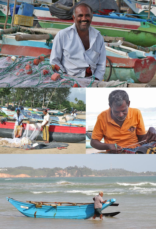 Weligama vissers