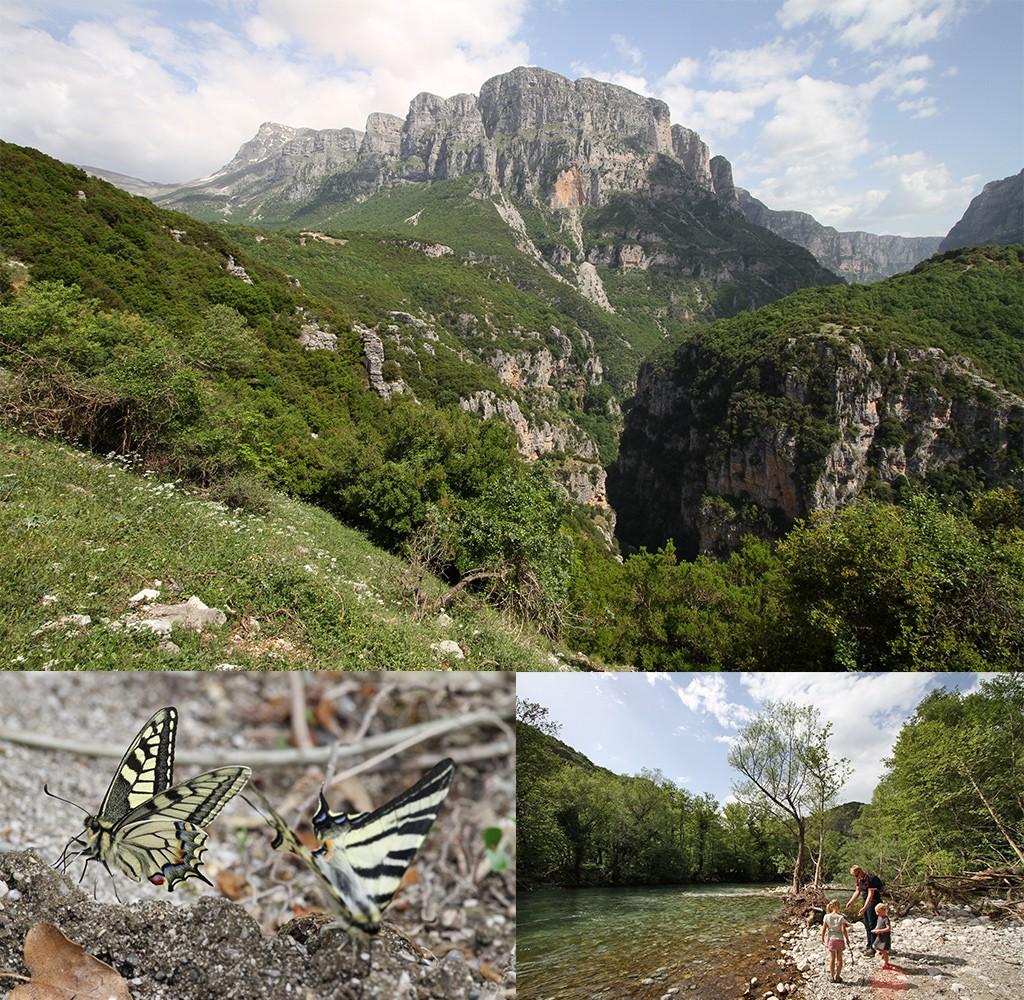Zagoria overal mooi niet alleen Vikos kloof