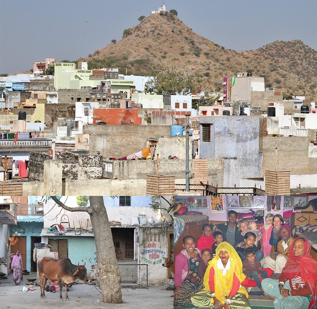 Zelfs de eenvoudige mens in Pushkar reist