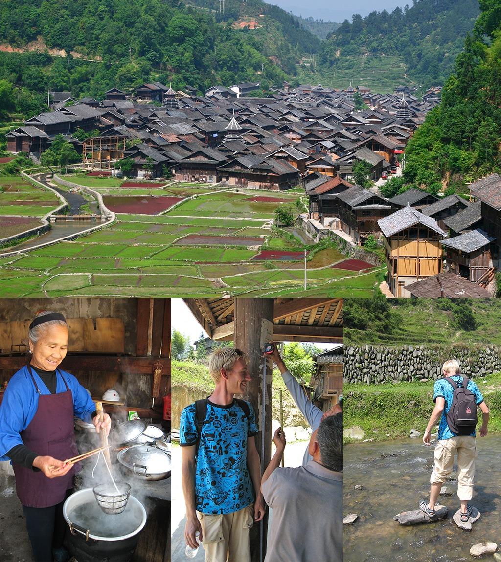 Zhaoxing en omgeving