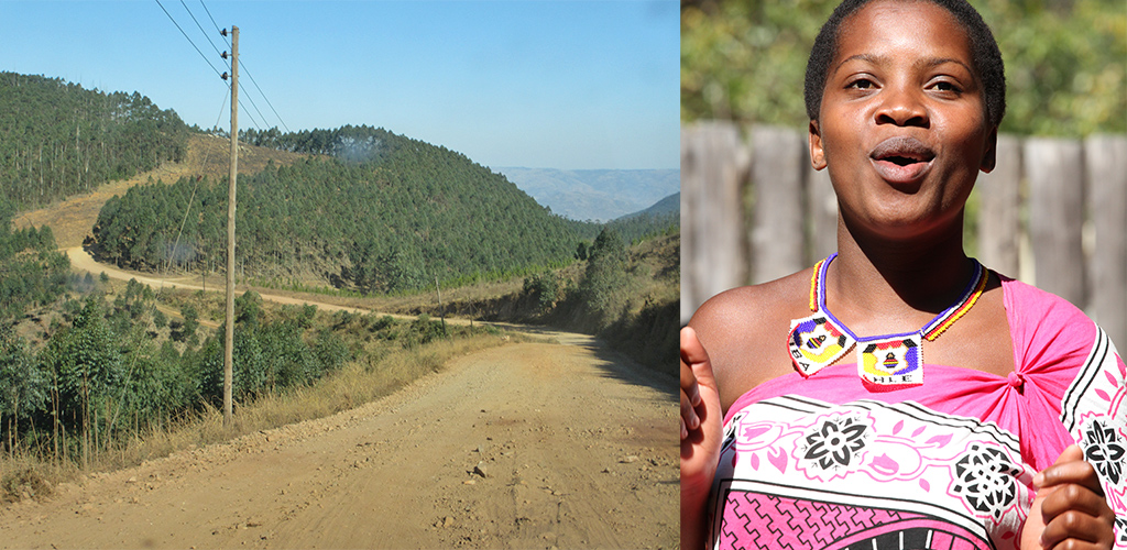Zuid-Afrika route Barberton naar Ezulwini