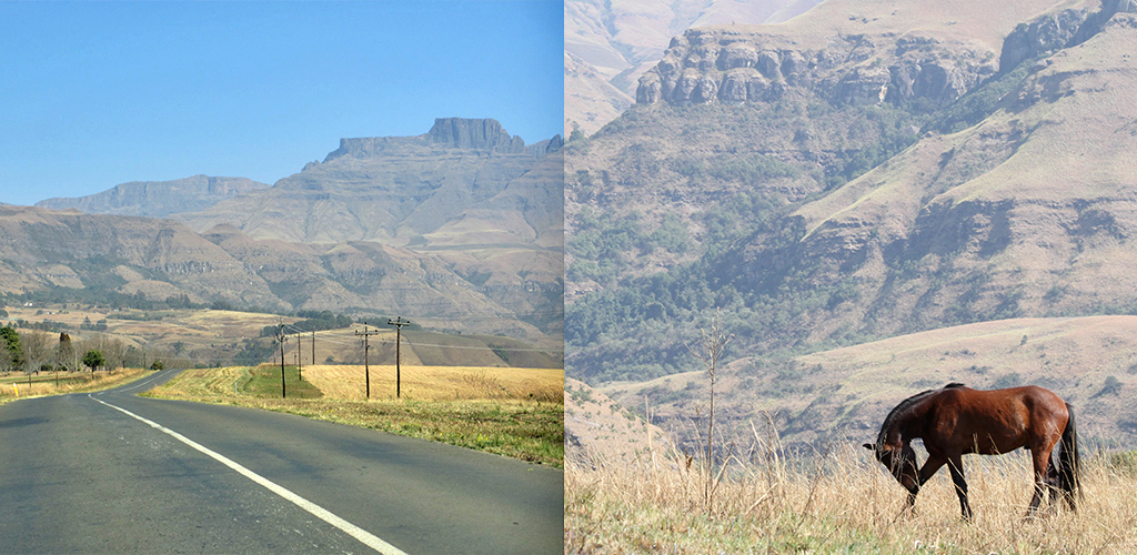 Zuid-Afrika route Drakensbergen