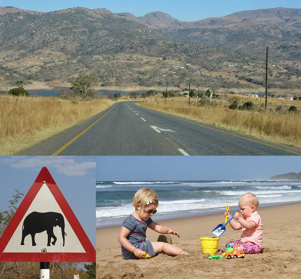 Zuid-Afrika route Ezulwini naar St. Lucia