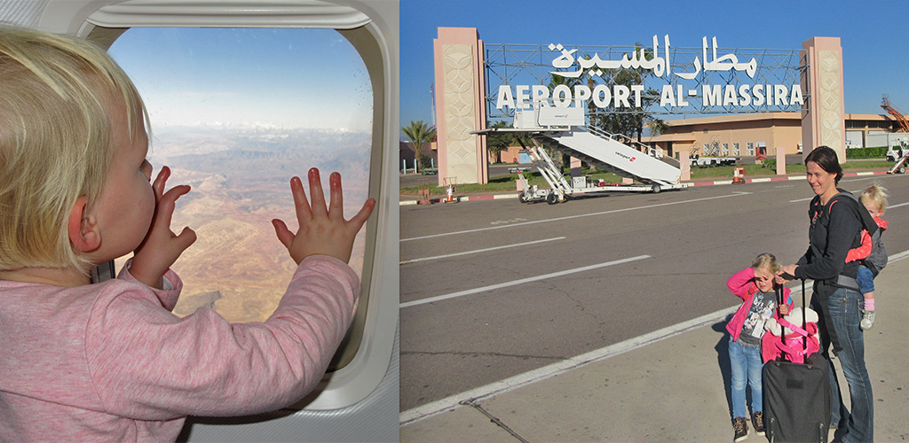 aankomst Agadir luchthaven