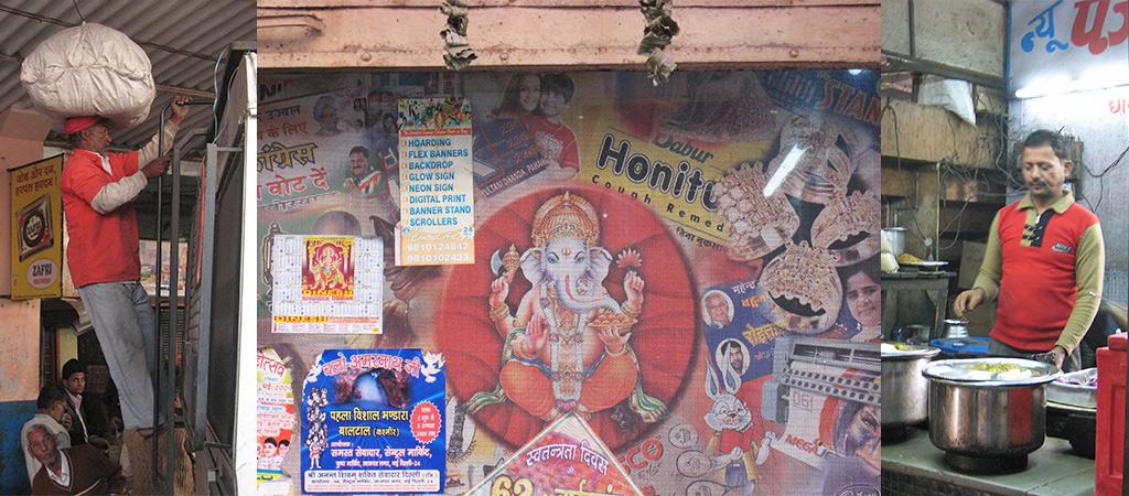 aankomst in India