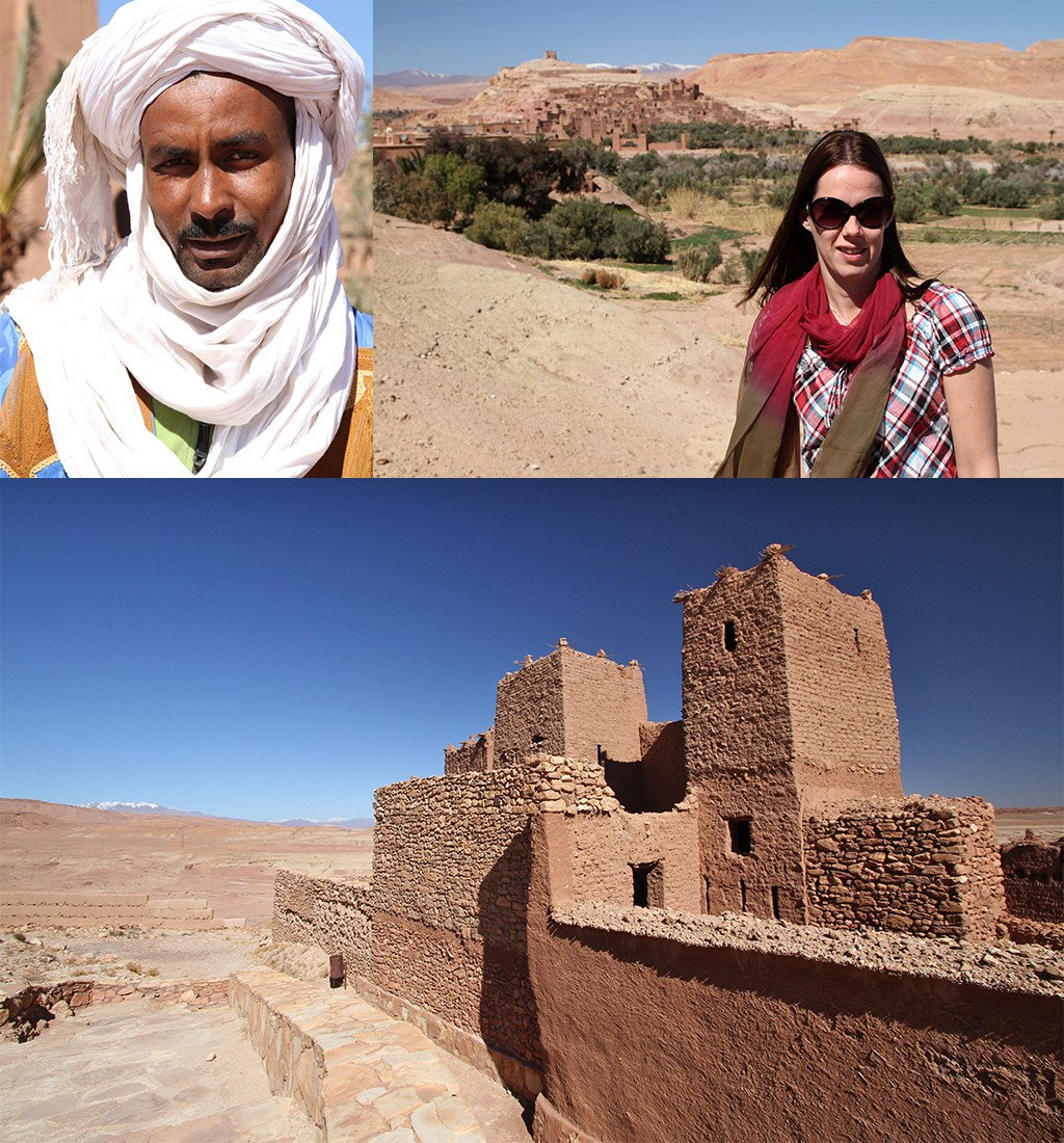 Ait Benhaddou in Zuid Marokko