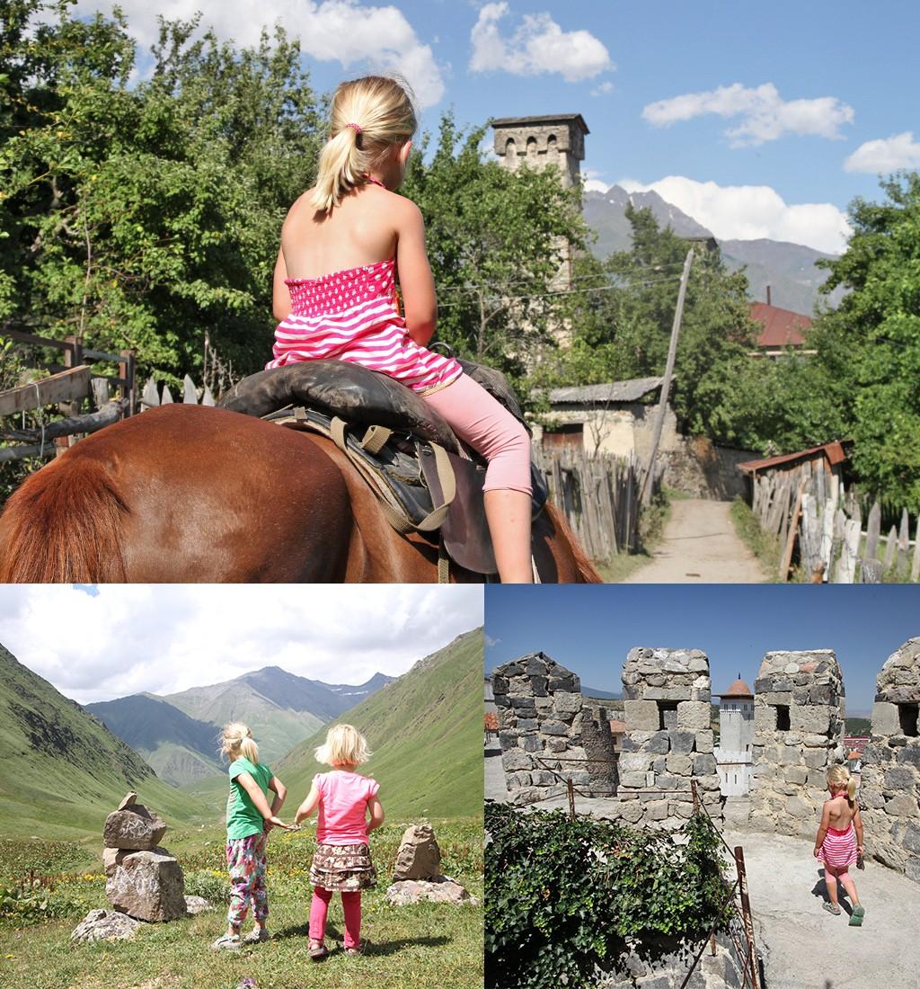 avontuurlijke reizen met kinderen - Georgië