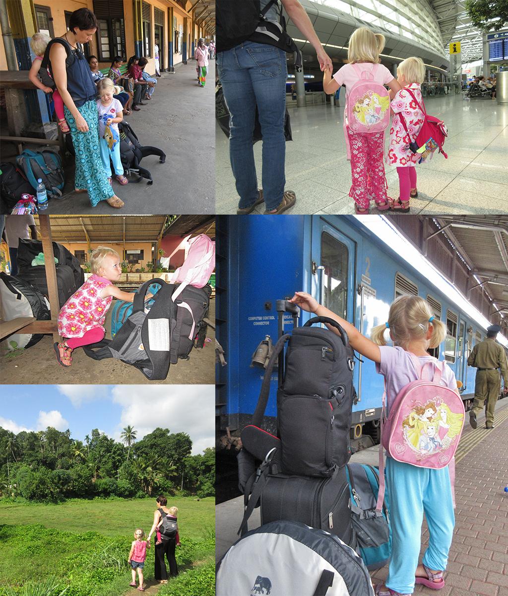 backpacken met peuters