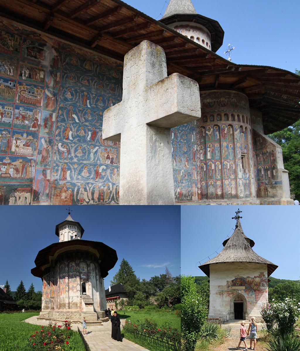 beschilderde kerken Bucovina