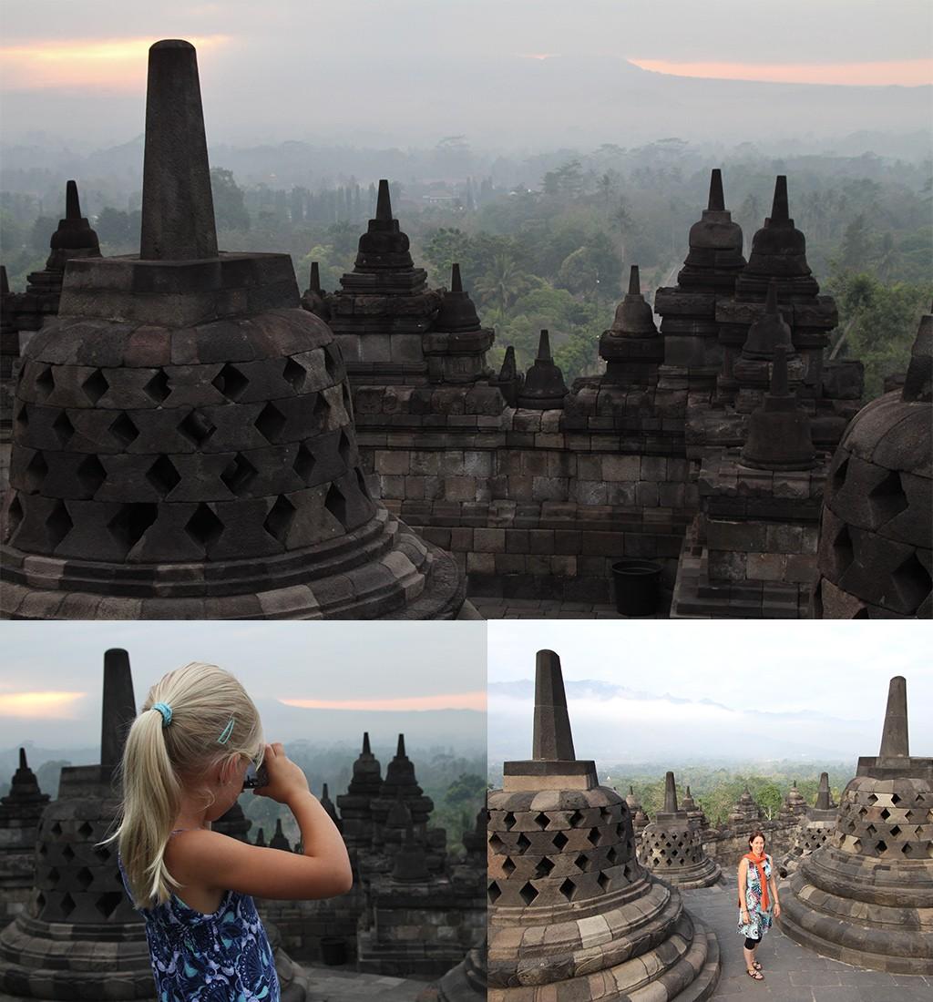 bezienswaardigheden Yogyakarta - Borobudur zonsopkomst
