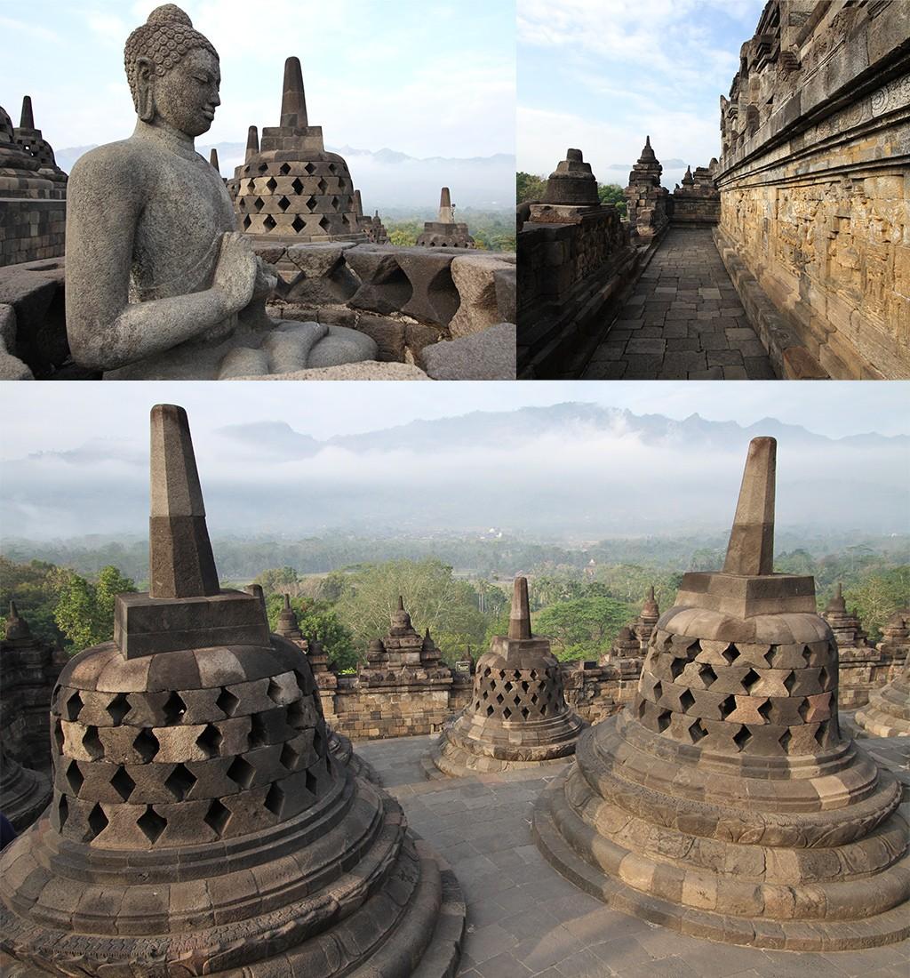 bezienswaardigheden Yogyakarta - Borobudur