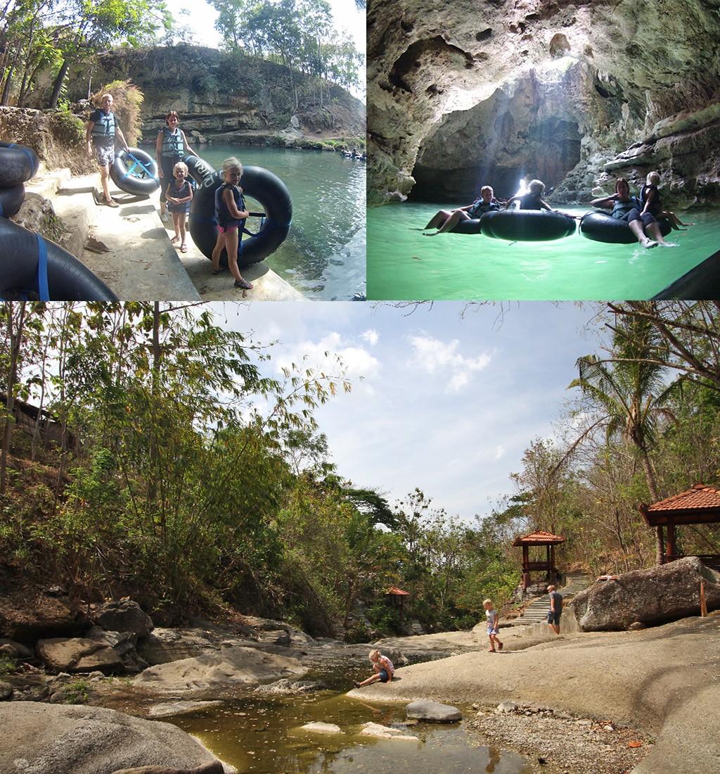 bezienswaardigheden Yogyakarta - Goa Pindul en Luweng Sampang
